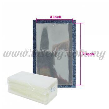 """Thailand OPP Plastic 4"""" x 7"""" 1pack *1kg (PB-OPP47)"""
