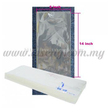 """Thailand OPP Plastic 6"""" x 14"""" 1pack *1kg (PB-OPP614)"""