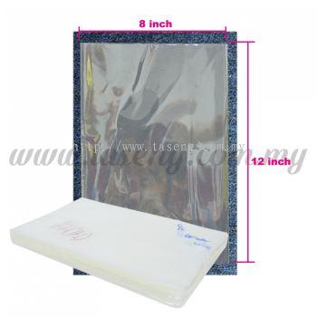 """Thailand OPP Plastic 8"""" x 12"""" 1pack *1kg (PB-OPP812)"""