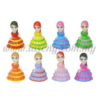 Cake Dress Girl 8pcs (DC-CDG)
