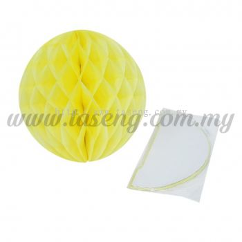 25cm Honeycomb Ball Yellow (PD-HC25-03)