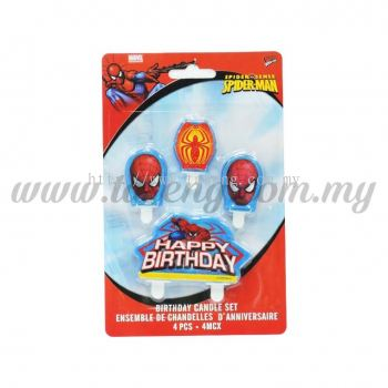 Candle Spiderman (CDL-CT-06)
