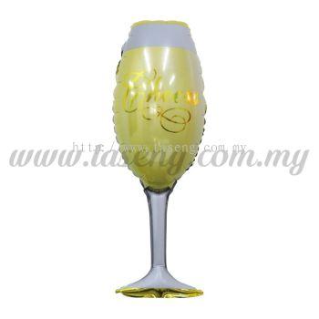 [WEDDING] Wineglass Foil Balloon *Cheers (FB-713)