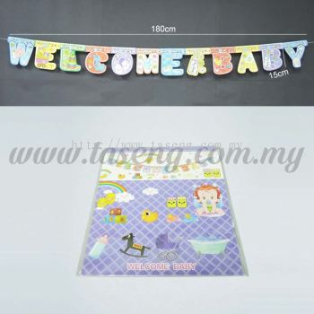 Banner 2 Welcome Baby (P-BN2-03)
