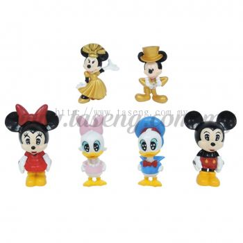 Mickey & Donald Duck Family 2 6pcs (DC2-MDM2)