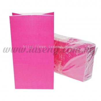 Kraft Paper Bag -Magenta  1pack *10pcs (RPB-P1-MA)
