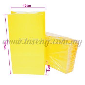 Kraft Paper Bag -Yellow  1pack *10pcs (RPB-P1-Y)