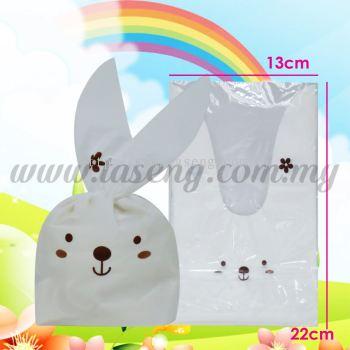 Plastic Candy Medium -Brown Rabbit 1pack *50pcs (PB-PCM-1BR)