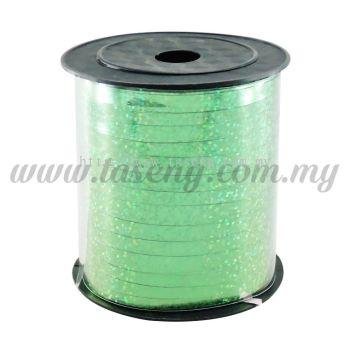 0.5cm Metallic Laser Ribbon -Green (RB4-GN)