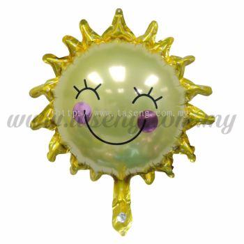 [Cartoon] Mini Foil Balloon *Smiley Sun (FB-S-007)