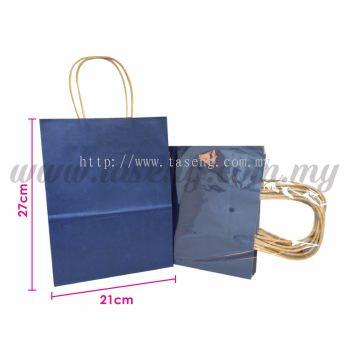 Paper Bag - Dark Blue *10pcs (RPB-P2L-DB)