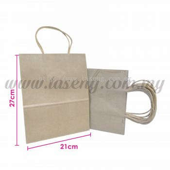 Paper Bag - Eco Paper *10pcs (RPB-P2L-EP)