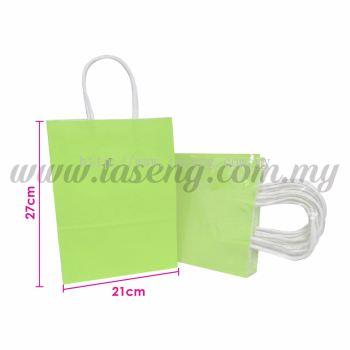 Paper Bag - Lime Green *10pcs (RPB-P2L-LG)