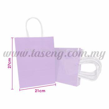 Paper Bag - Lilac *10pcs (RPB-P2L-LI)
