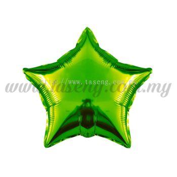 Foil Balloon Star -Green (FB-10-STGN)