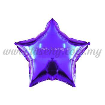 Foil Balloon Star -Purple (FB-10-STPP)