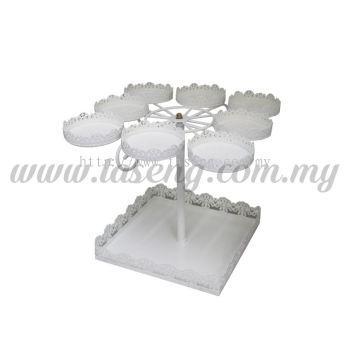 Cupcake Stand 8 Round 1 Square (P-CS-CS011)