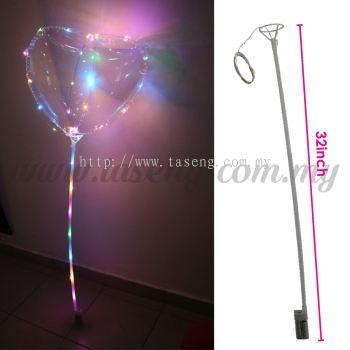 Led Bubble Balloon Stick (B-LEDBB)