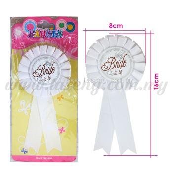 Badges Bride *White (DU-BAD-01W)