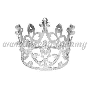Mini Metal Crown * Silver (DU-MHB1-S)