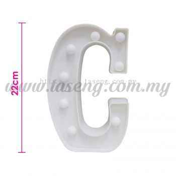 8.5inch Alphabet LED Light - C (AC-LED8C)