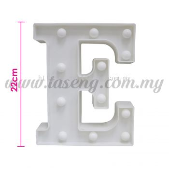 8.5inch Alphabet LED Light - E (AC-LED8E)