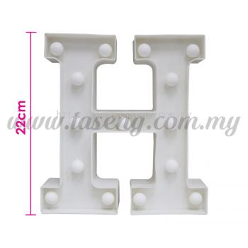8.5inch Alphabet LED Light - H (AC-LED8H)