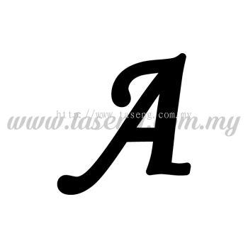 Sticker Alphabet A - Regular (SK-AALP5-A)