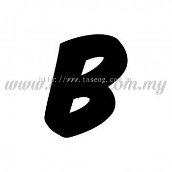 Sticker Alphabet B - Bold (SK-AALP6-B)