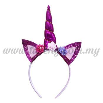 Hairband Unicorn - Magenta 2(DU-HB20-5MA2)