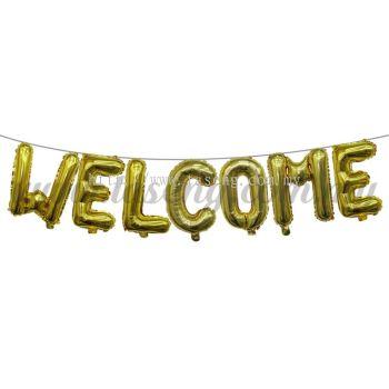 Foil Balloon Set Welcome (FB-MC-T093)