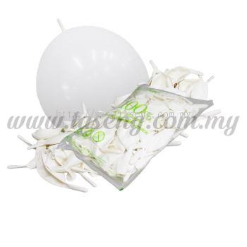 12inch Standard Link Balloons - White 100pcs (B-12SRL-S1)
