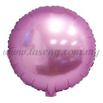 Foil Balloon Round - Pink (FB-SLB077-P)