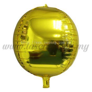 4D Foil Balloon - Gold (FB-SLA461-GO)