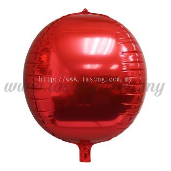 4D Foil Balloon - Red (FB-SLA461-R)