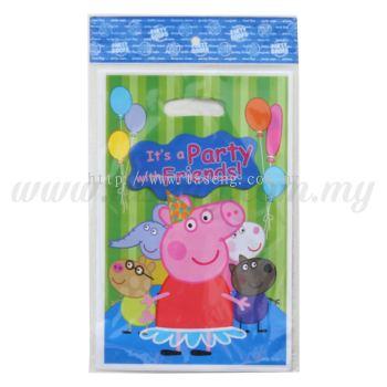 Peppa Pig Party Loot Bag 1pack *10pcs (P-PLB-1832)