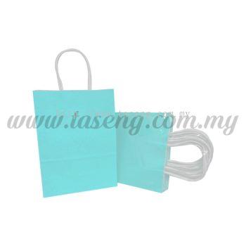 Paper Bag - Turquoise *10pcs (RPB-P2L-TQ)