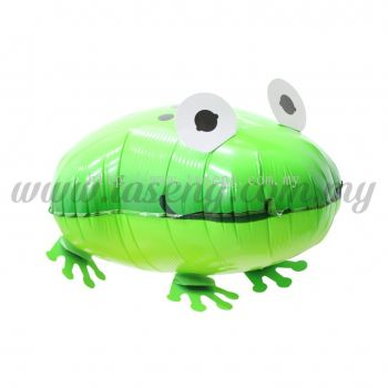 Walking Pet Foil Balloons - Frog (FB-SL-G010)