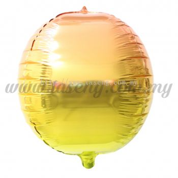 4D Foil Balloon - Gold Gradient (FB-SLA502-GO)
