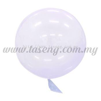 18inch Seamless Festive Crystal Balloon *Lavender (B-18CB-LV)