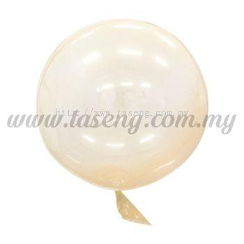 18inch Seamless Festive Crystal Balloon *Orange (B-18CB-OR)