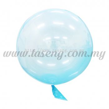 18inch Seamless Festive Crystal Balloon *Turquoise (B-18CB-TQ)