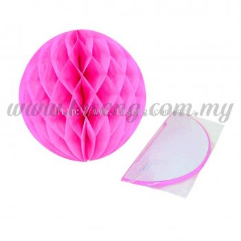 25cm Honeycomb Ball Pink (PD-HC25-15)