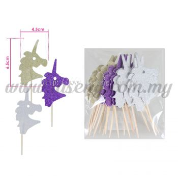 Tooth Stick Glitter - Unicorn 1pack * 20pcs (TS-UN20)