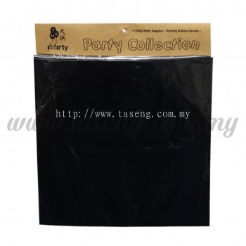 Custom Print Sticker Plain - Black 10pcs (SK-P-BK)