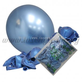 16 inch Chrome Balloon 50pcs - Baby Blue (B-16CR-BB)