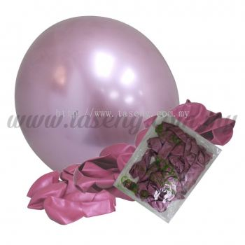 16 inch Chrome Balloon 50pcs - Pink (B-16CR-P)