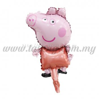 [Cartoon] Mini Foil Balloon *Peppa Pig (FB-S-B0309)