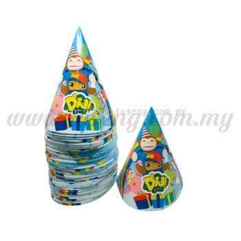 DIDI & Friends - Paper Party Hat 60pcs (DF-P-HAT)