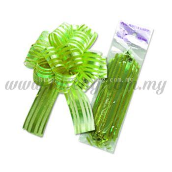 30mm Pull Flower Ribbon - Lime Green 1 Piece (RB-1PF30-LG)